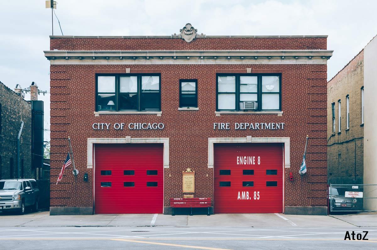 消防署の絵