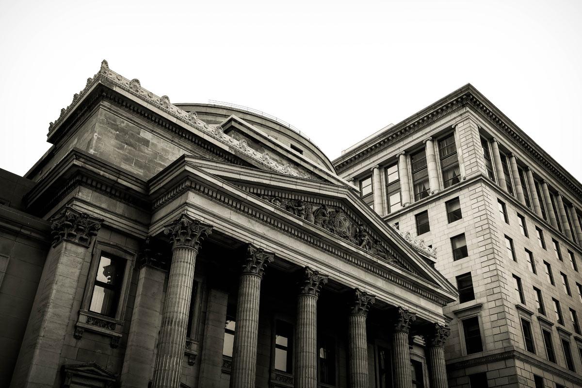 民間金融機関を表した絵