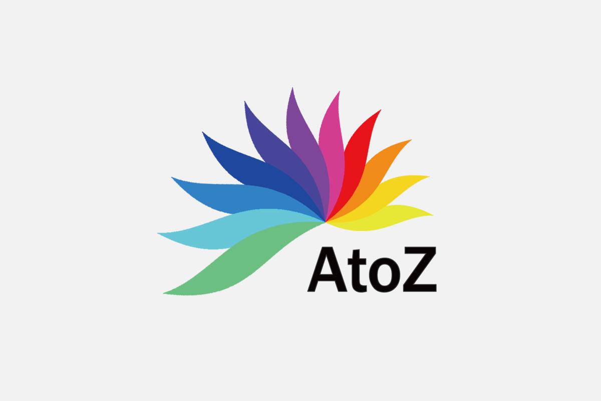 AtoZのロゴマーク